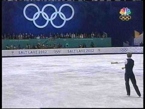 Timothy Goebel (USA) - 2002 Salt Lake City, Figure Skating, Men's Free Skate - YouTube