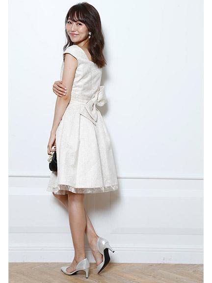 ラメジャガードタックドレス / Apuweiser-riche(アプワイザー・リッシェ)のドレス