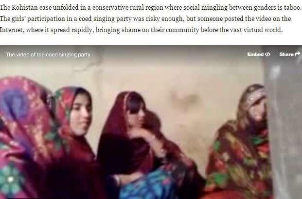 結婚式で踊る少年に手拍子した少女5名 「恥知らず」と家族に殺される(パキスタン)