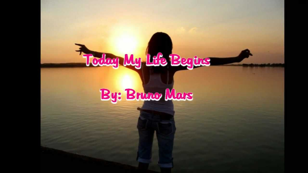 Bruno Mars - Today My Life Begins - YouTube