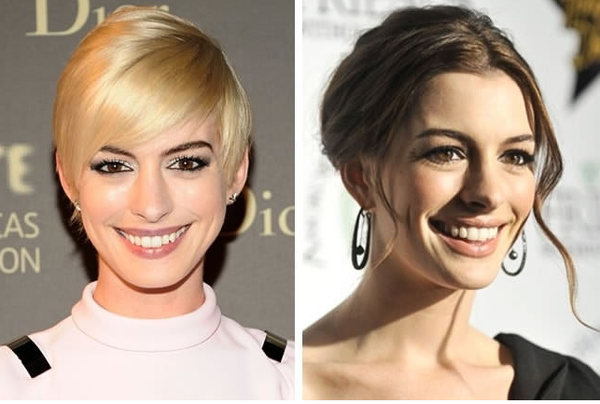 【美人度アップ】金髪VS黒髪!ハリウッド女優が黒髪だとえらい美人になる件