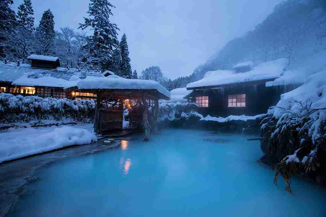 冬の旅行でお勧めの場所