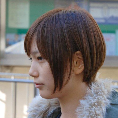 本田翼風髪型、ショートボブのアレンジとオーダーの仕方 | ショートヘア、ショートボブ、髪型総合情報 B-cafe
