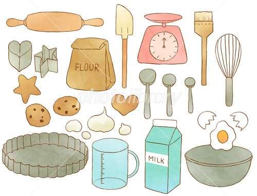 製菓の道具や材料 どんな物使ってますか?