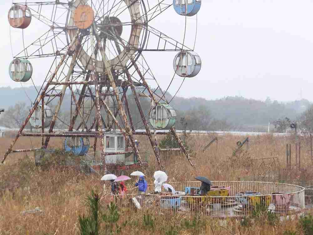 廃墟遊園地「化女沼レジャーランド」を廃墟のままテーマパークに クラウドファンディングで支援募る