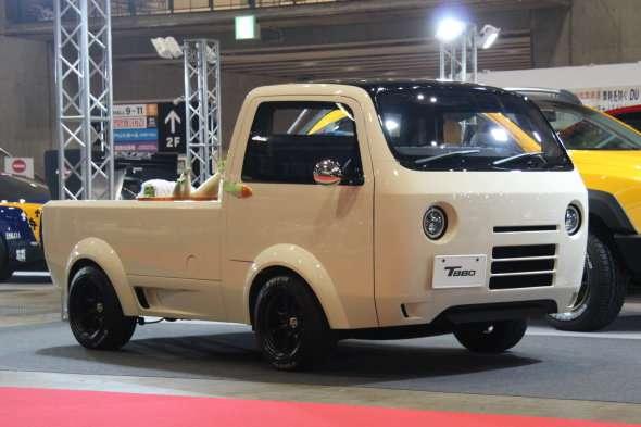 【東京オートサロン2017】謎のモデルT880、抜群のボディワークで軽トラをカッコよく:工藤貴宏 - Autoblog 日本版