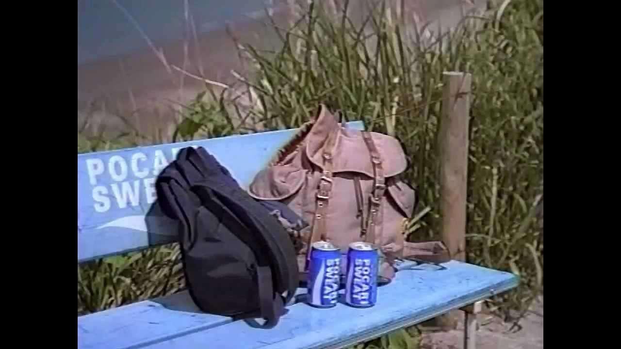 【CM 1995-96】大塚製薬 POCARI SWEAT 30秒×4+60秒 - YouTube
