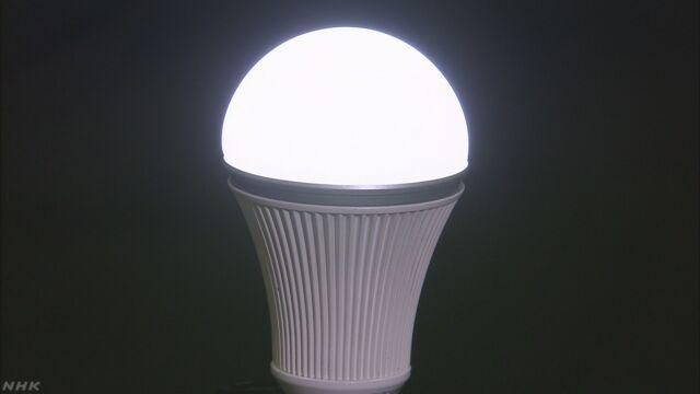 東京都 白熱電球2個をLED電球1個と交換へ | NHKニュース