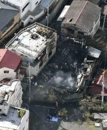 「ファンヒーターを使っていたら火が出た」 熱海で住宅1棟全焼6歳女児死亡か