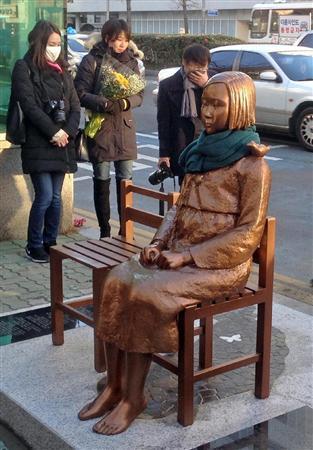釜山の慰安婦像設置問題 日本の主張に対抗できない韓国 (2017年1月7日掲載) - ライブドアニュース