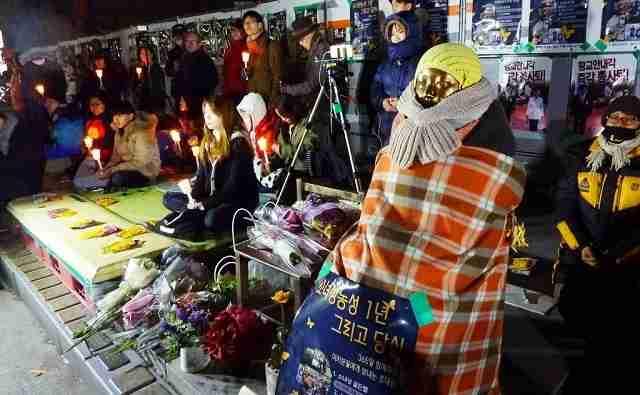 釜山日本総領事館前に少女像を設置した団体の正体 日本でも活動する団体「キョレハナ」の裏の顔 - 崔 碩栄