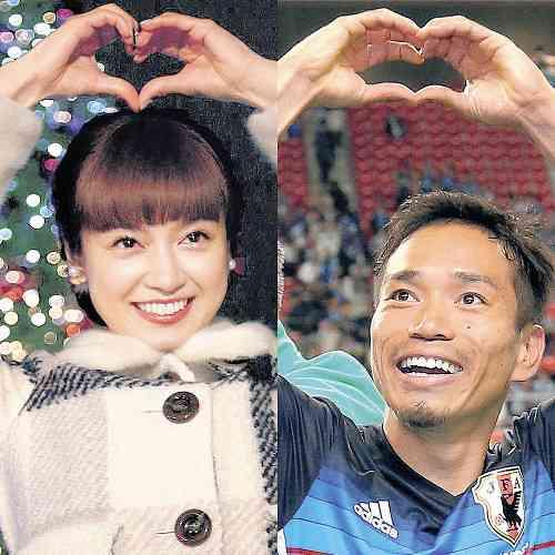 長友佑都&平愛梨、1月に結婚!すでに結納を済ませ関係者に報告