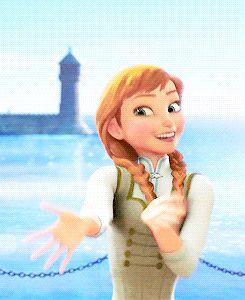アナの可愛い仕草 : アナのGIFアニメ❄*゜+アナと雪の女王 名シーンの素敵GIF画像集 第3弾+゜*。❄ - NAVER まとめ