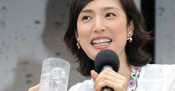 天海祐希、あひる口をする女性は「バッカじゃないの」と語る | 女性自身[光文社女性週刊誌]