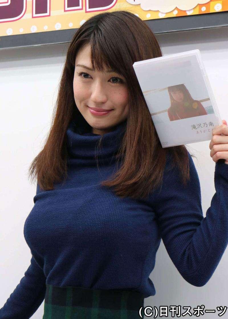 【アダルト注意】滝沢乃南のイメージ映像にカメラマンの一糸まとわぬ下半身が映りネット騒然
