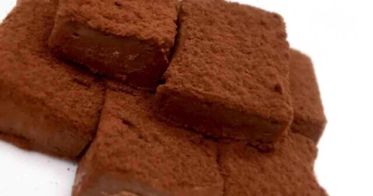材料3つ!お豆腐で♡とろける生チョコ by sc0c0 [クックパッド] 簡単おいしいみんなのレシピが258万品