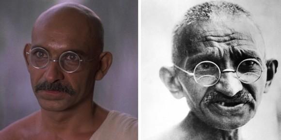 実在する有名人と、演じた俳優を比較するトピ