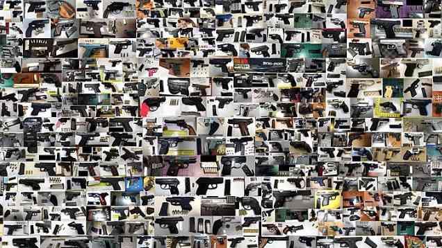 手裏剣手裏剣、また手裏剣。アメリカ運輸保安局が没収した武器がたくましい
