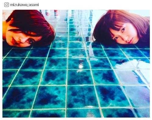 """ベッキー&水川あさみ""""同い年""""美の競演ショットに反響「めっちゃ美人」 - モデルプレス"""