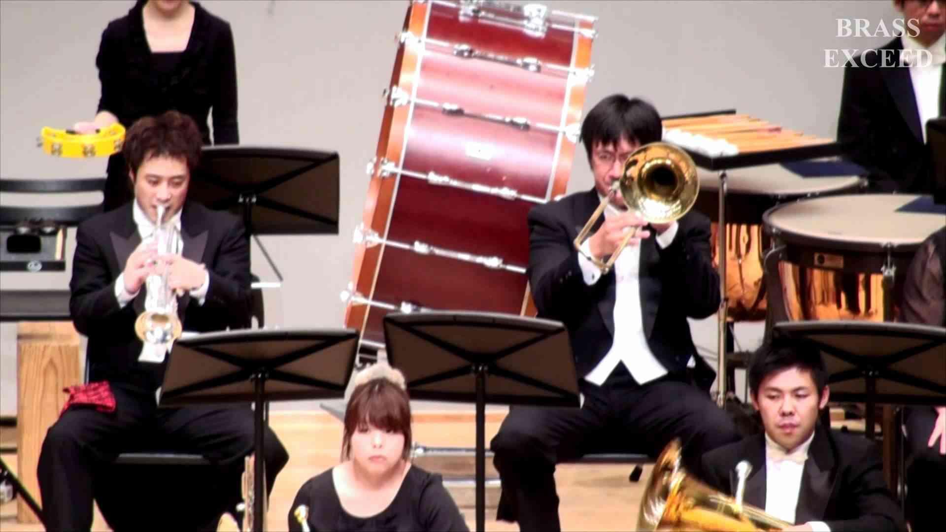 交響組曲「ドラゴンクエストⅡ」この道わが旅 BRASS EXCEED TOKYO - YouTube