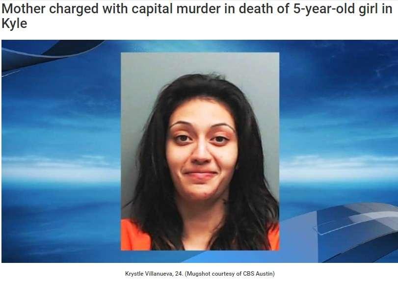 薬物依存の24歳母親が5歳娘を刺殺 逮捕後はニヤニヤ笑顔も(米)