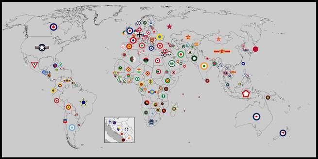 外国人「世界の空軍が採用している国籍ロゴマーク、君達のお気に入りはどれ?」 【海外の反応】 : 海外の万国反応記