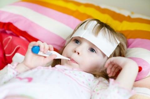 熱を出しやすい子供が居る方