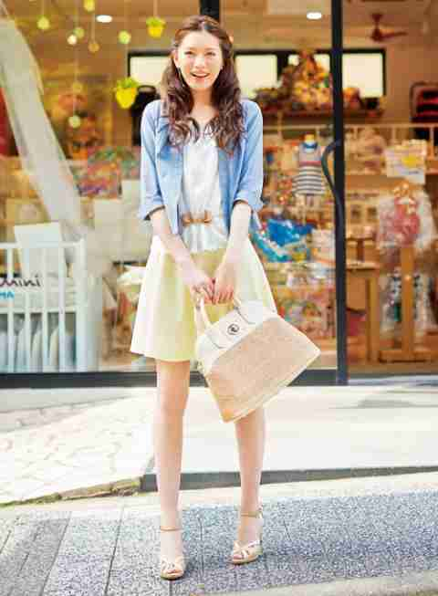 春のカラフルコーデ♡画像