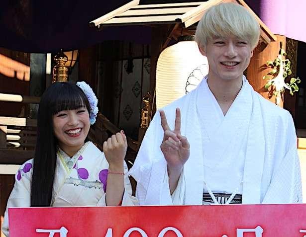 坂口健太郎の真っ白な着物姿にmiwaが「何でも着こなせる。男前」と胸キュン!