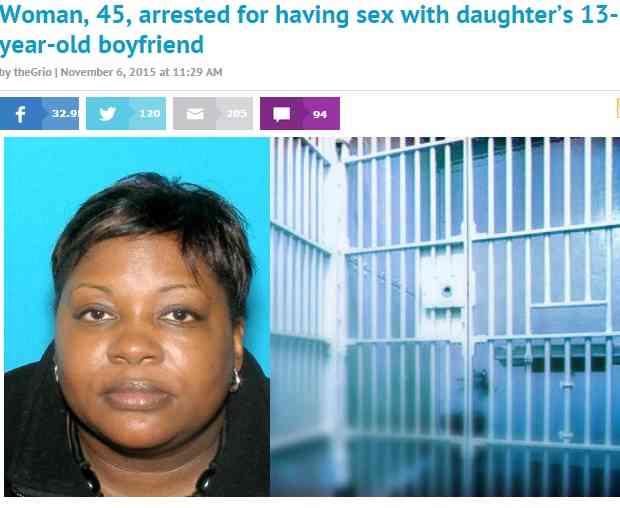 娘の交際相手・13歳少年と性行為した母親「お尻がたまらない」と自慢も(米)