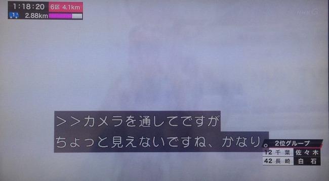 皇后杯第35回全国都道府県対抗女子駅伝 雪が酷すぎて視聴者が困惑
