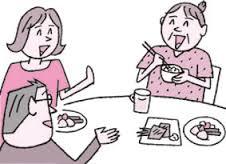 食事の時の会話