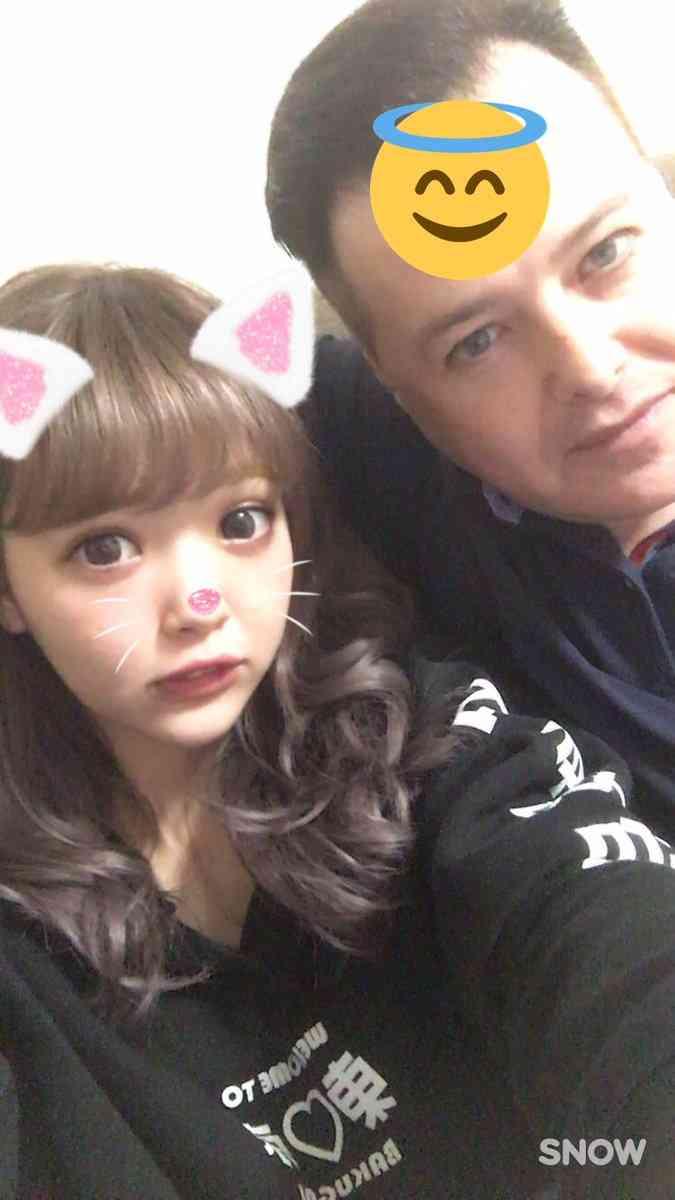 藤田ニコル、離婚した父との2ショット披露「じまんのお父さん」