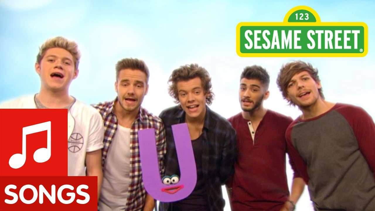 Sesame Street: One Direction What Makes U Useful - YouTube