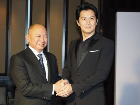 福山雅治、中国現地ファンにライブ開催誓う 海外主演作の会見出席 (スポニチアネックス) - Yahoo!ニュース