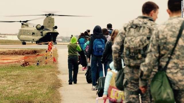 CNN.co.jp : 在韓米軍、沖縄へ家族脱出の避難訓練 北朝鮮の侵攻に備え - (1/2)