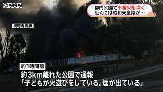 昭和天皇陵近くで不審火相次ぐ 八王子市|日テレNEWS24