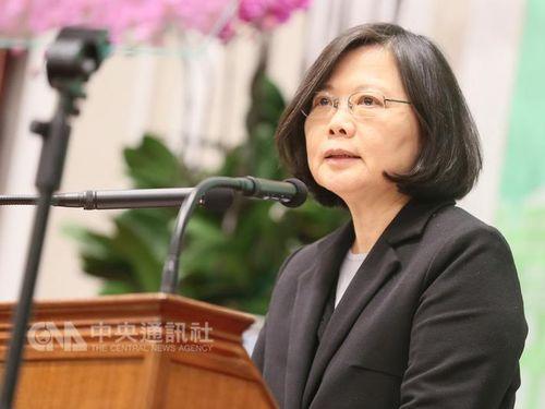 台湾の蔡英文総統が日本語で新年の挨拶 中国から批判が殺到 - ライブドアニュース