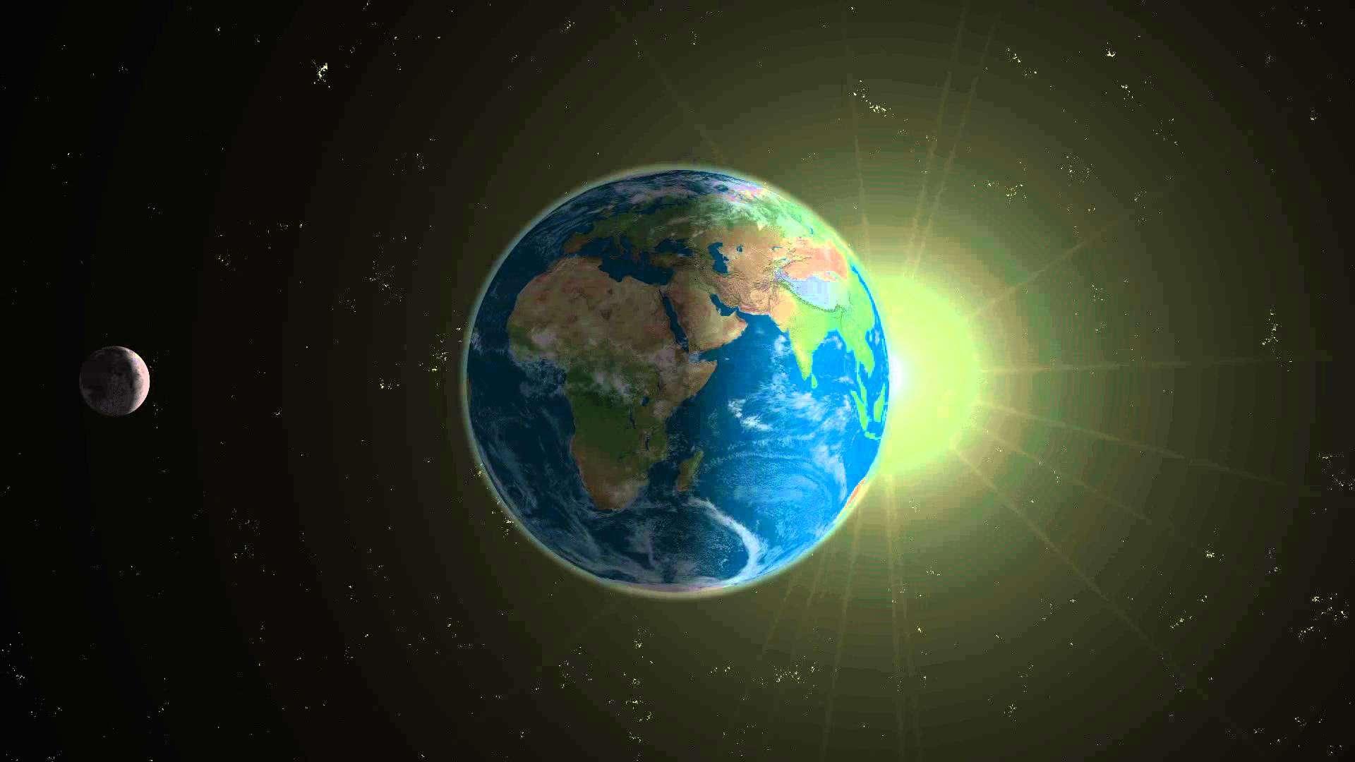 もし地球の自転が止まったら??