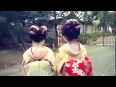 舞妓さんの格好で変顔 【あいのり】 【桃】 - YouTube