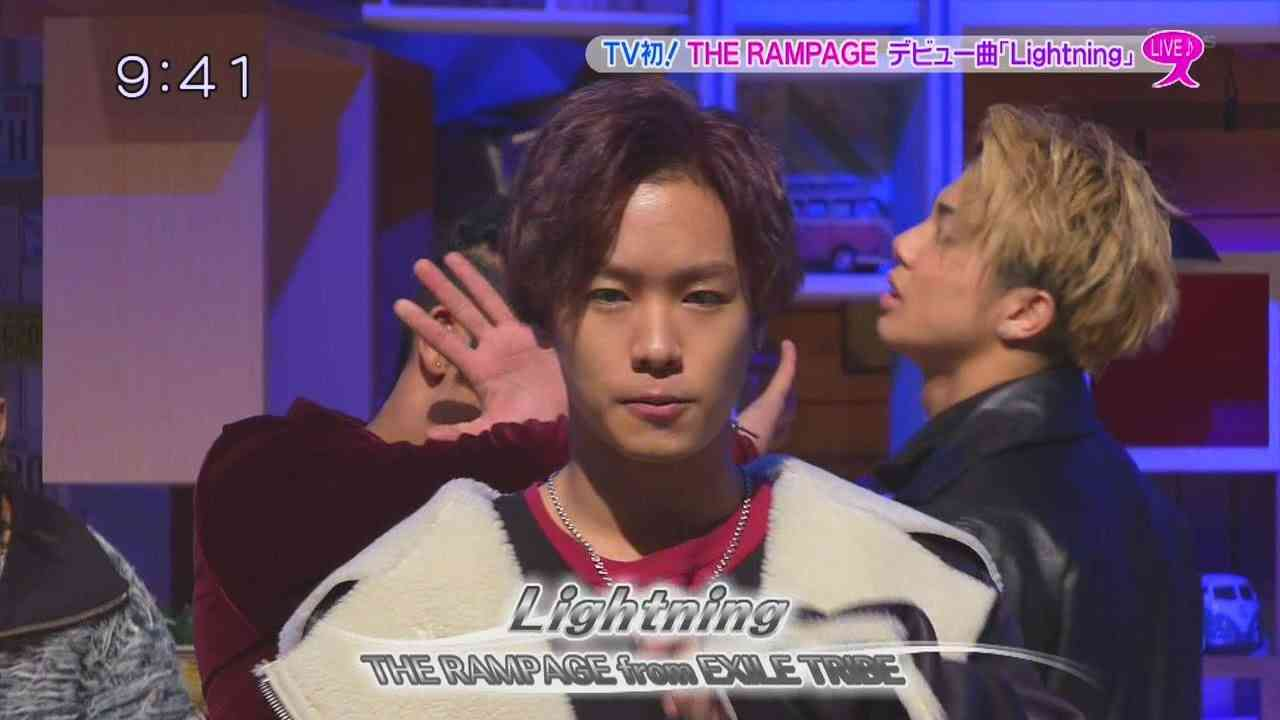 THE RAMPAGE from EXILE TRIBE 『Lightning』スタジオ初披露2017/01/25 スッキリ! - YouTube