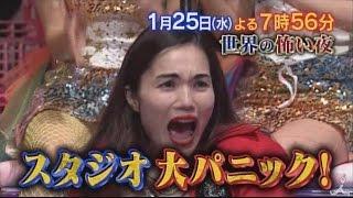 【実況・感想】水トク!「世界の怖い夜…最後のイタコ&本当にあった呪いの物語」