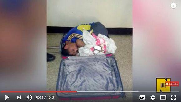 「彼氏をピンクのスーツケースに入れて」刑務所から脱獄させようとした女が逮捕される! その画像がギャグにしか見えない件 | ロケットニュース24