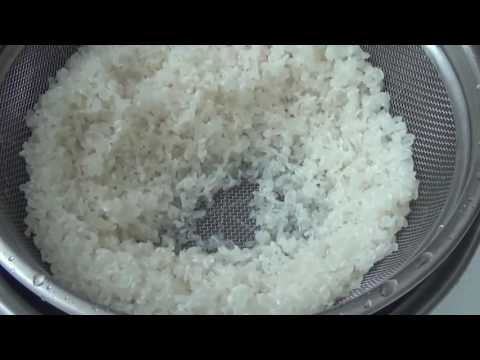 洗い米 特別公開 - YouTube