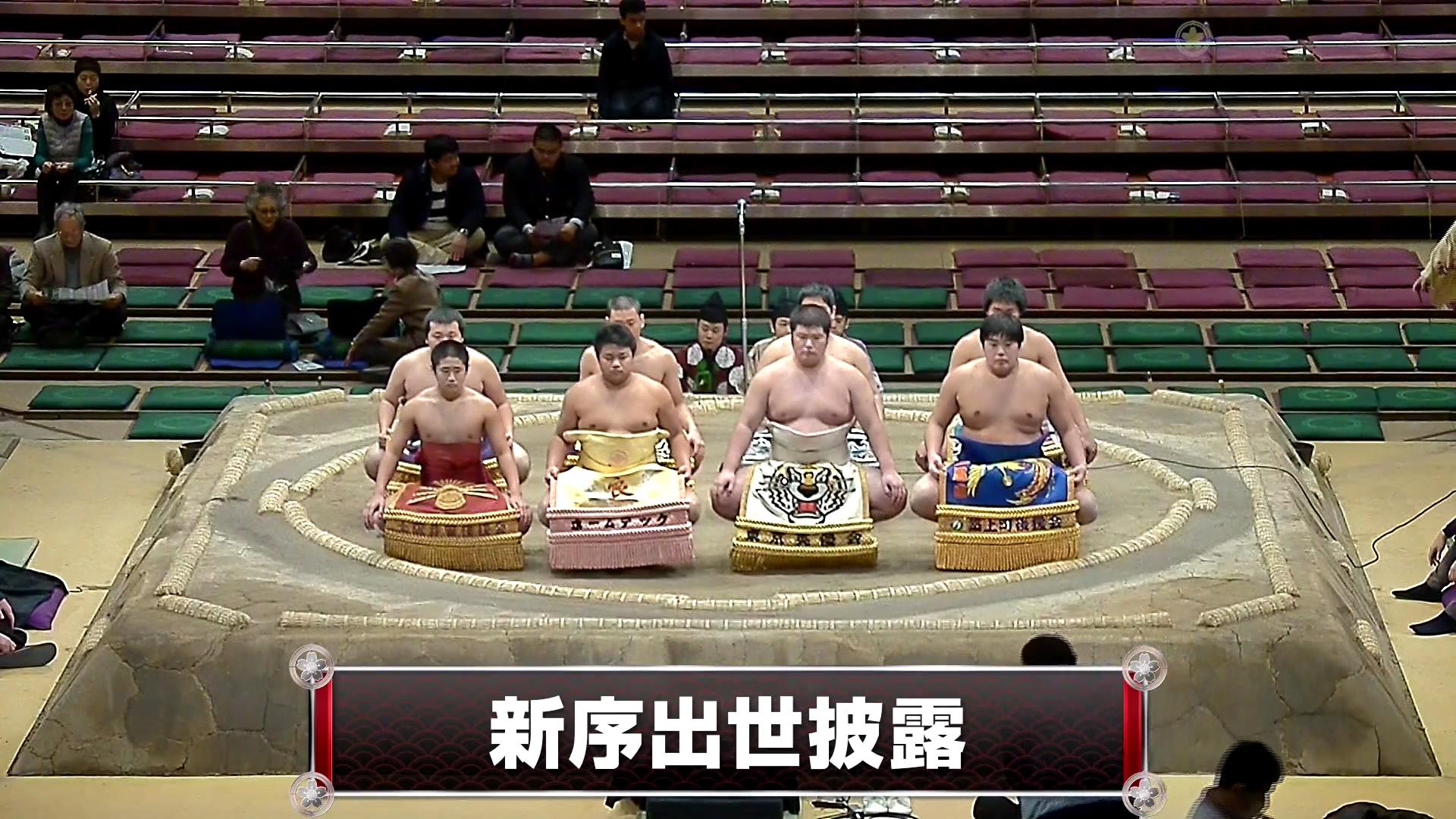 【動画】大相撲 1月場所 8日目 新序出世披露 - スポーツナビ「日本相撲協会」