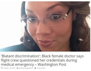 デルタ航空CAが人種差別 急病人に対応しようとした黒人女性医師に「まさかあなたがお医者さん?」 - エキサイトニュース(1/2)