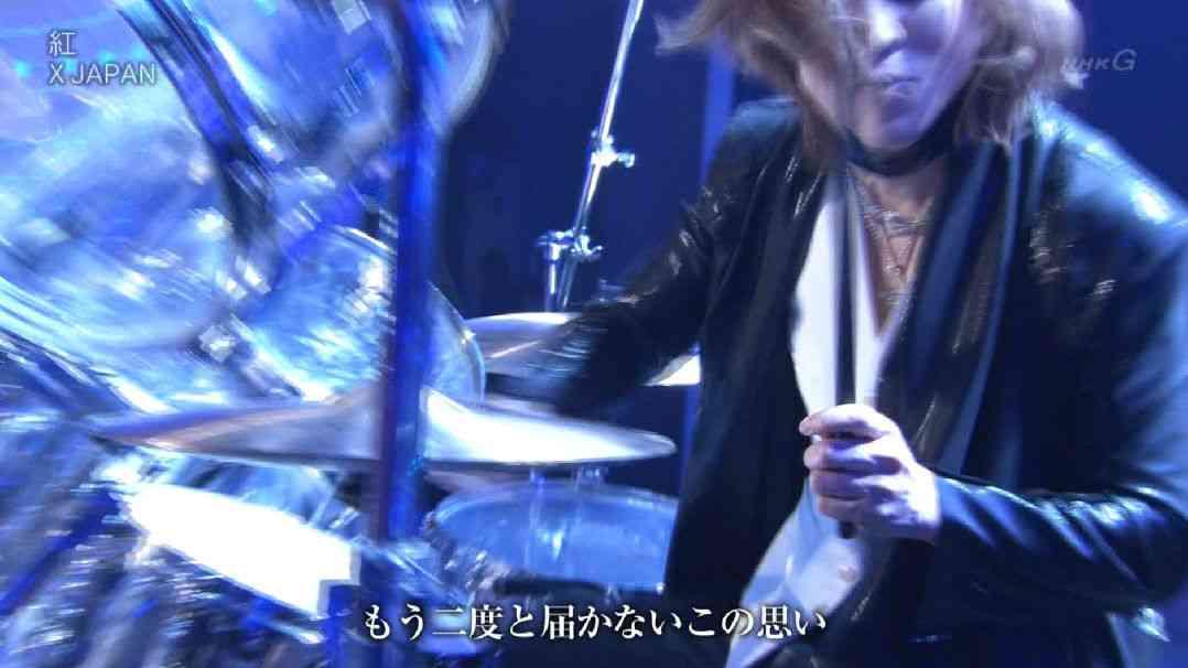 【紅白】YOSHIKI「ゴジラ倒した?やけくそですよ」と苦笑い