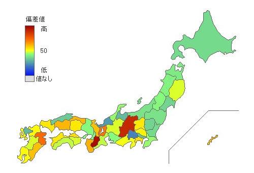 小麦粉消費量 [ 2014年第一位 奈良県 ]|新・都道府県別統計とランキングで見る県民性 [とどラン]
