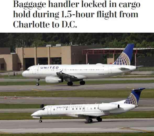 【海外発!Breaking News】ユナイテッド航空機、荷物係を貨物室に閉じ込めたまま1時間半フライト(米) | Techinsight|海外セレブ、国内エンタメのオンリーワンをお届けするニュースサイト