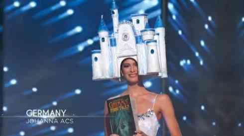 頭にそびえ立つ建築物 世界各国の「ミス・ユニバース」衣装がツッコんだら負けだった